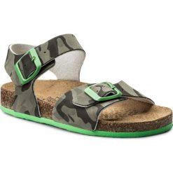Sandały PRIMIGI - 1426644 D Mili. Zielone sandały chłopięce Primigi, z materiału. W wyprzedaży za 169,00 zł.