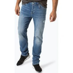 Review - Jeansy męskie – Simon, niebieski. Niebieskie jeansy męskie Review. Za 149,95 zł.