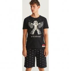Piżama Star Wars - Czarny. Czarne piżamy męskie Reserved, l, z motywem z bajki. Za 79,99 zł.