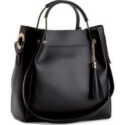 Torebka CREOLE - K10385  Czarny. Czarne torebki klasyczne damskie Creole, ze skóry. W wyprzedaży za 249,00 zł.
