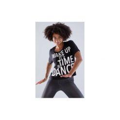 Koszulka do tańca. Czarne t-shirty damskie DOMYOS. Za 49,99 zł.