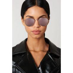 Le Specs Okulary przeciwsłoneczne Zephyr - Gold. Różowe okulary przeciwsłoneczne damskie aviatory Le Specs, okrągłe. W wyprzedaży za 170,07 zł.