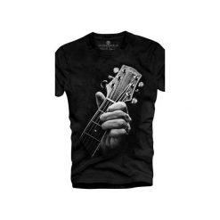 T-shirt UNDERWORLD Ring spun cotton Guitar Head. Szare t-shirty męskie z nadrukiem marki Underworld, m, z bawełny. Za 59,99 zł.