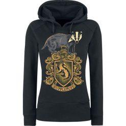 Harry Potter Hufflepuff Bluza z kapturem damska czarny. Czarne bluzy rozpinane damskie Harry Potter, xl, z nadrukiem, z kapturem. Za 184,90 zł.