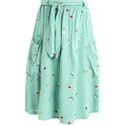 Spódniczki trapezowe: Soaked in Luxury KAROLINE SKIRT Spódnica trapezowa cameo green