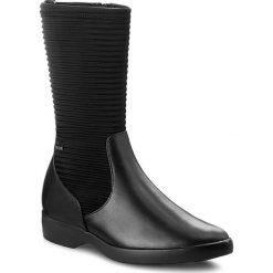 Kozaki HÖGL - GORE-TEX 4-102833 Black 0100. Czarne buty zimowe damskie marki HÖGL, z materiału. W wyprzedaży za 469,00 zł.