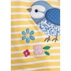 Sukienki dziewczęce z falbanami: JoJo Maman Bébé BLUEBIRD APPLIQUE DRESS Sukienka z dżerseju lemon