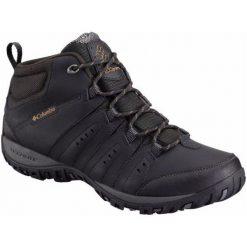 Buty trekkingowe męskie: Columbia Buty Trekkingowe Peakfreak Nomad Chukka Wp Omni-Heat Black, Goldenrod 44,5