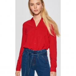 Gładka koszula - Czerwony. Czerwone koszule damskie marki Cropp, l. Za 49,99 zł.