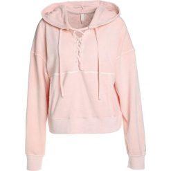 Bluzy rozpinane damskie: Free People BELIEVE Bluza z kapturem pink
