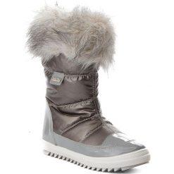 Kozaki dziewczęce: Śniegowce BARTEK – 27385/82G Srebrny Szary