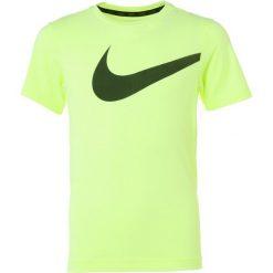Nike Performance HYPER Tshirt z nadrukiem volt/barely volt. Żółte t-shirty chłopięce Nike Performance, z nadrukiem, z materiału. Za 129,00 zł.