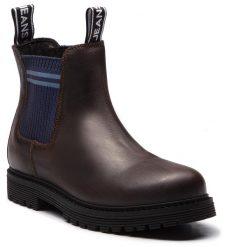 Sztyblety TOMMY JEANS - Outdoor EM0EM00139  Coffee 211. Brązowe sztyblety męskie Tommy Jeans, z jeansu. Za 699,00 zł.