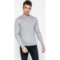 Kensington - Sweter. Szare swetry klasyczne męskie Kensington, xl. W wyprzedaży za 39,90 zł.