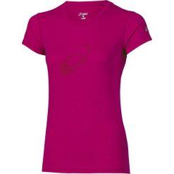 Bluzki asymetryczne: Asics Koszulka Graphic SS Top różowa r. XS (110423 6016)