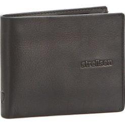 Duży Portfel Męski STRELLSON - Carter 4010001190 Black 900. Czarne portfele męskie Strellson, ze skóry. W wyprzedaży za 139,00 zł.