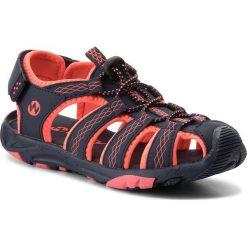 Sandały dziewczęce: Sandały WALKY – CP44-5032(IV)DZ  Granatowy