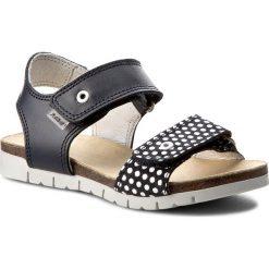 Sandały dziewczęce: Sandały BARTEK – 16183-05R Niebiesko Biały