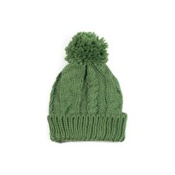 Czapki damskie: Art of Polo Czapka damska Winter comfort zielona