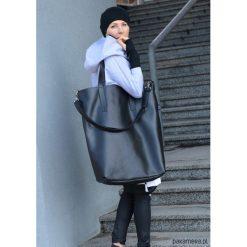 Bardzo Duża Torba Borba. Czarne torebki klasyczne damskie Pakamera, z materiału, duże. Za 269,00 zł.