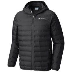 Columbia Kurtka Męska Lake 22 Down Hooded Jacket Black M. Czarne kurtki sportowe męskie Columbia, m, z puchu. Za 569,00 zł.