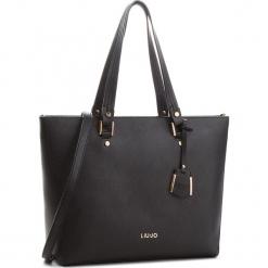 Torebka LIU JO - L Tote Isola A68006 E0087 Nero 22222. Czarne torebki klasyczne damskie Liu Jo, ze skóry ekologicznej. Za 649,00 zł.