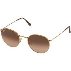 RayBan ROUND METAL Okulary przeciwsłoneczne bronze/copper. Brązowe okulary przeciwsłoneczne damskie aviatory Ray-Ban. Za 579,00 zł.