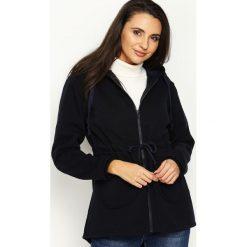 Bluzy damskie: Granatowa Bluza Pretty And Chic