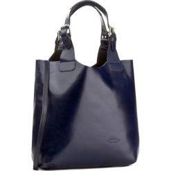 Torebka CREOLE - RBI117 Granat. Niebieskie torebki klasyczne damskie Creole, ze skóry, duże. W wyprzedaży za 259,00 zł.