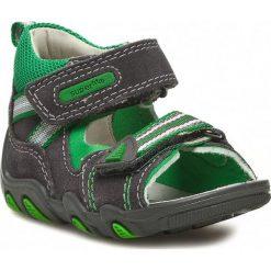 Sandały męskie skórzane: Sandały SUPERFIT – 2-00011-44 M Lava Kombi