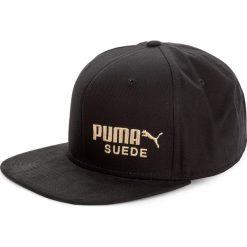 Czapka z daszkiem PUMA - Archive 021489 01 Puma Black. Czarne czapki z daszkiem damskie Puma, z bawełny. W wyprzedaży za 79,00 zł.