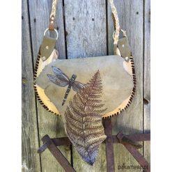 Torebki i plecaki damskie: torebka skórzana -poranek