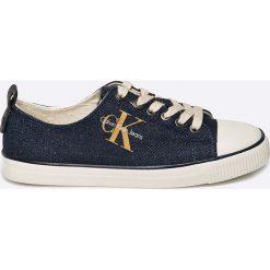 Calvin Klein Jeans - Tenisówki Donata. Szare tenisówki damskie marki Calvin Klein Jeans, z jeansu. W wyprzedaży za 269,90 zł.