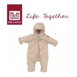 Kombinezon zimowy Combi T-ZIP 6-12m Heather Beige (0827155). Niebieskie kombinezony niemowlęce marki MINOTI, w paski. Za 491,09 zł.