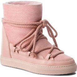 Buty INUIKII - Sneaker Classic 70203-5 Rose. Czerwone buty zimowe damskie Inuikii, ze skóry, na niskim obcasie. Za 1049,00 zł.