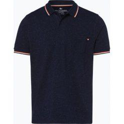 Nils Sundström - Męska koszulka polo, niebieski. Niebieskie koszulki polo Nils Sundström, m, w paski. Za 129,95 zł.