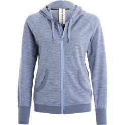 Bluzy rozpinane damskie: super.natural ESSENTIAL HOODY Bluza rozpinana light tempest/stone blue