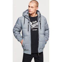 Pikowana kurtka na zimę - Szary. Szare kurtki męskie pikowane marki Cropp, na zimę, l. Za 249,99 zł.