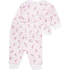 Frugi BABY KYNANCE KIMONO OUTFIT SET  Bluza rozpinana offwhite. Białe bluzy dziewczęce Frugi, z bawełny. Za 189,00 zł.