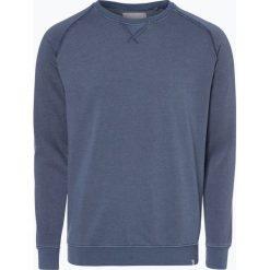 Minimum - Męska bluza nierozpinana – Hvidberg, niebieski. Niebieskie bejsbolówki męskie Minimum, m, z bawełny. Za 249,95 zł.