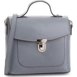 Torebka CREOLE - K10477  Szary. Szare torebki klasyczne damskie Creole, ze skóry. W wyprzedaży za 159,00 zł.