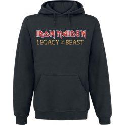 Iron Maiden Eddie On Bass Bluza z kapturem czarny. Czarne bluzy męskie rozpinane Iron Maiden, m, z kapturem. Za 164,90 zł.