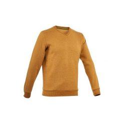Sweter turystyczny NH150 męski. Brązowe swetry klasyczne męskie marki QUECHUA, m, z elastanu. Za 39,99 zł.