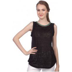 T-shirty damskie: Brave Soul Koszulka Bez Rękawów Damska Agnes Xs Czarny