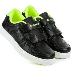 Czarne chłopięce trampki IVETTE. Czarne buty sportowe chłopięce AX BOXING, sportowe. Za 72,90 zł.