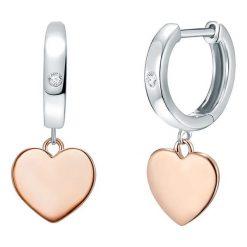 Biżuteria i zegarki: Pozłacane kolczyki z diamentami