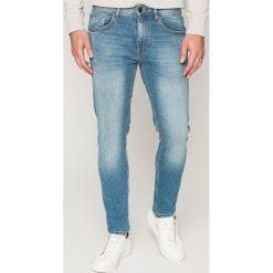 Casual Friday - Jeansy. Niebieskie jeansy męskie slim marki Casual Friday. W wyprzedaży za 179,90 zł.