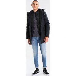GStar SUZAKI Sweter saru blue/ivory. Niebieskie kardigany męskie marki G-Star, m, z bawełny. W wyprzedaży za 375,20 zł.