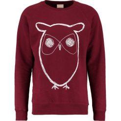 Bejsbolówki męskie: Knowledge Cotton Apparel BIG OWL Bluza tawny red