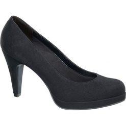 Szpilki damskie Graceland czarne. Czarne szpilki marki Graceland, z materiału. Za 79,90 zł.